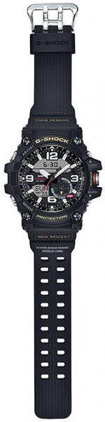 Casio G-shock Mudmaster Black Ana-Digi Dial Resin Band Watch - GG-1000-1A